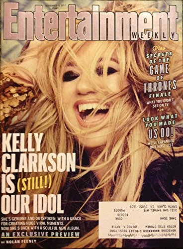 Entertainment Weekly Magazine (September 15, 2017) Kelly Clarkson Cover