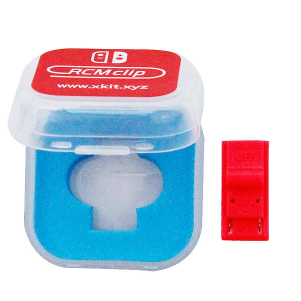 Househome 2 Packs DN Paper Clip RCM Clip Short Connector for Nintendo Switch RCM ashort Circuito toolsrchive Modified shorting Kits.