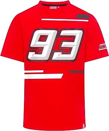 2019 Marc Marquez MotoGP Mens 93 T-Shirt Turning Ant 100/% Cotton Official
