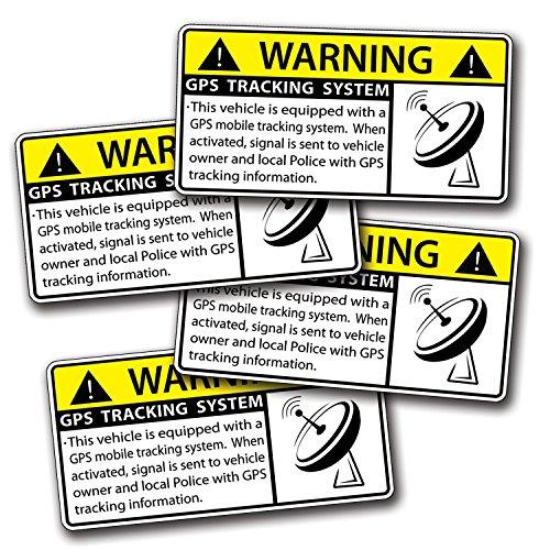 Warning Sticker Amazon Com