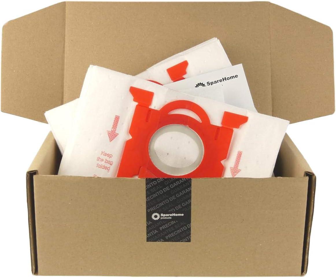 ReleMat SpareHome® 10 Bolsas de Alto Rendimiento para aspiradores Electrolux E201SM - E200M
