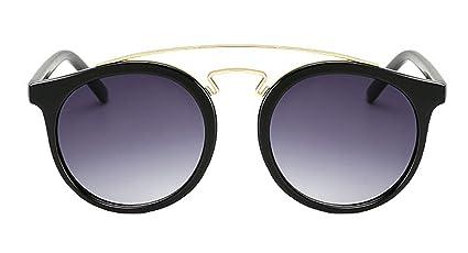 DaQao Gafas antiradiación, vintage, redondas, de diseño ...