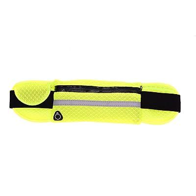 Running Sport Respirant Voyage Personnel Extérieur Multifonction Téléphone Portable Furtif Hommes Dames Décontracté Taille Des Paquets Sac,Green