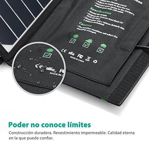 Cargador Panel Solar 16W