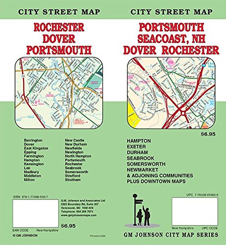 (Portsmouth / Dover / Rochester / New Hampshire, NH Street Map)
