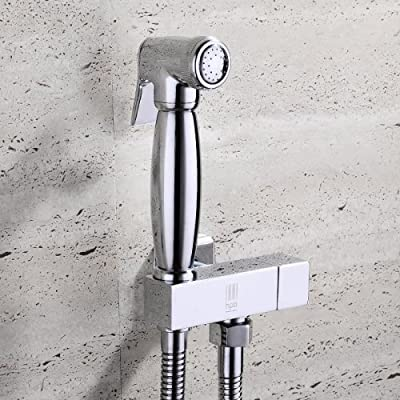 LightInTheBox Contemporary Wall Mounted Ceramic Valve Single Handle One Hole with Chrome Bathroom Sink Faucet