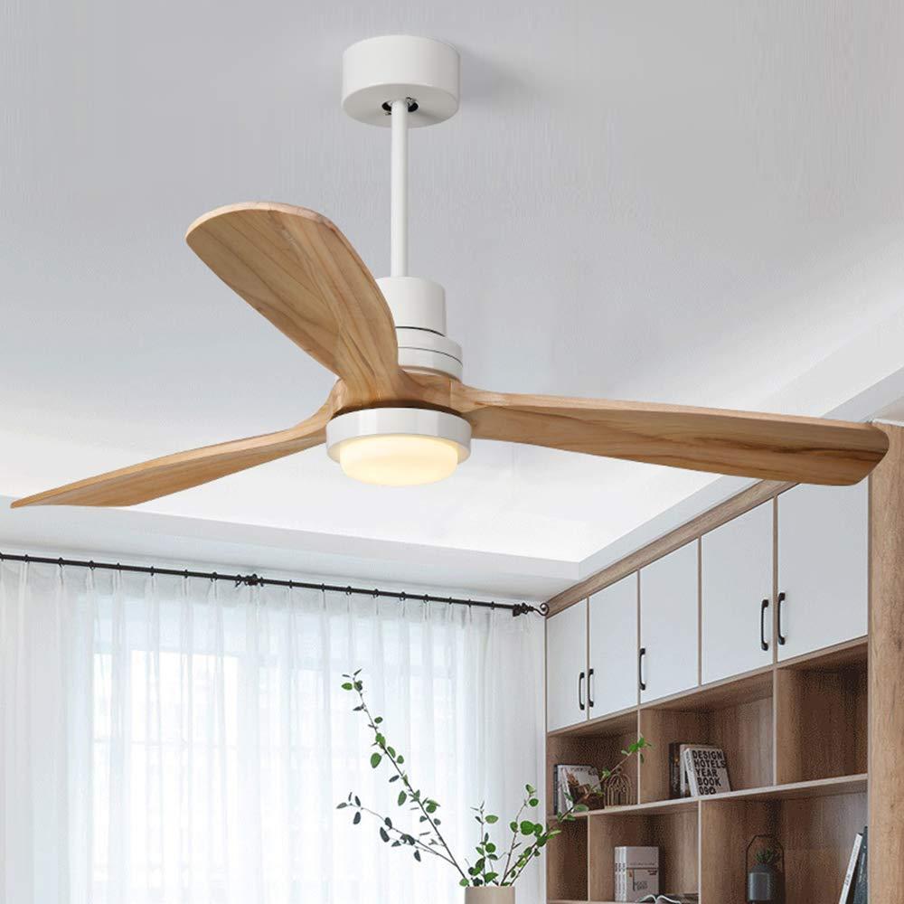 Jade 52 Zoll Deckenventilator Helle Deckenlampe Zu Hause ABS Holz Blatt  Ventilator Beleuchtung Dekorative