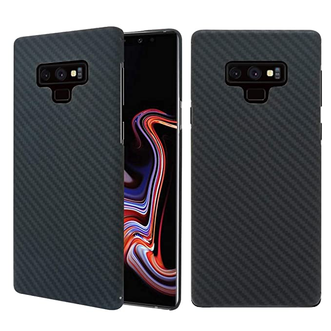 san francisco d833f 1608c Galaxy Note 9 Case, 0.7mm Ultra Thin Real Aramid Fiber [Real Body Armor  Material] Carbon Fiber Pattern Protective Case Cover for Samsung Galaxy  Note 9 ...