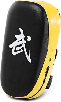 TLBTEK 1Pcs Taekwondo Kick Pad PU Muay Thai Pads MMA Karate Kick Pads Kickbox...