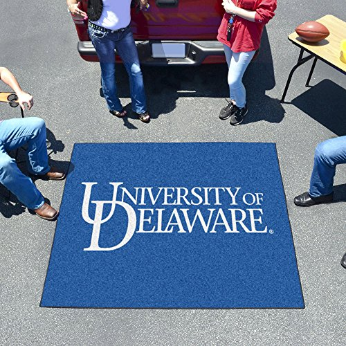 "Fan Mats 2849 UD - University of Delaware Blue Hens 60"" x 72"" Tailgater Mat / Area Rug"