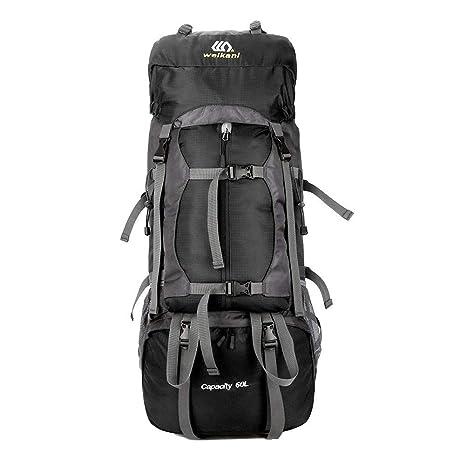ONEPACK Climbing Backpack 60L for Men Women Hiking Bag -Lightweight  Rainproof Reasistant 9c1a4854ee
