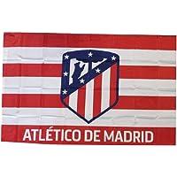 Atletico Madrid Bandera oficial de banderas grandes, 75 x 50 cm, PS 10182