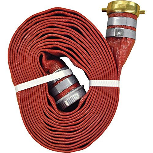 JGB Enterprises A008-0321-1625 Eagle Red PVC Discharge Hose, 2