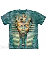 Big Face Tut King The Mountain Adult T-Shirt