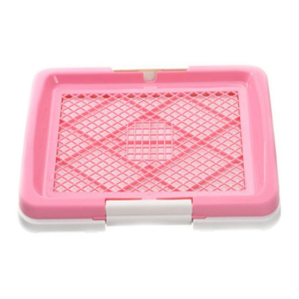Pink Puppy Training Toilet Pad Portable Toilet Outdoor,Pink