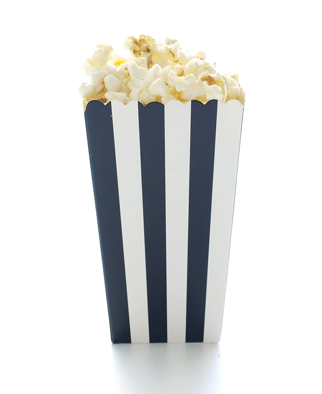 Amazon.com: Popcorn Boxes, Black Design Trio (36 Pack) - Movie ...