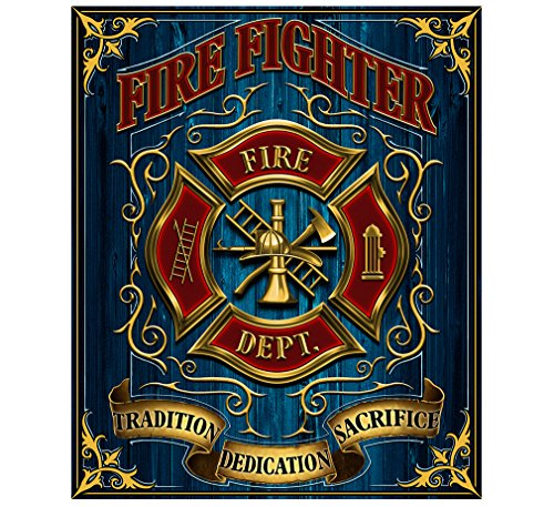Erazor Bits Couch Throw Blanket 50 x 60| Volunteer Fire Tradition Sacrifice d Throw Blanket FF2085-TB