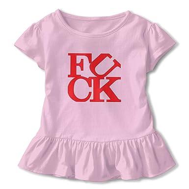 f37b9a5f97 Amazon.com: Life Gift Fuck Toddler/Girls Cute Skirted Leotard Tutu Dress T- Shirt For Dance Gymnastics And Ballet: Clothing
