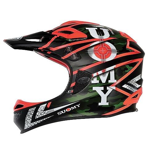 Suomy casque downhill Jumper Carbon Special Gun Taille L (Casques intégrales)/Downhill Helmet Jumper Carbon Special Gun Size L (Full Face Helmet)