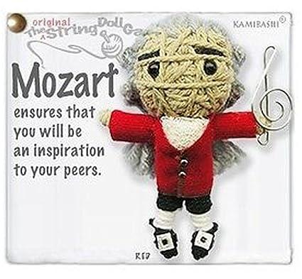 Amazon.com: kamibashi Mozart Original Gang llavero de cuerda ...