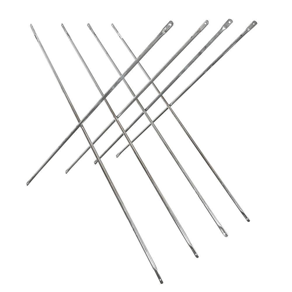 Metaltech Saferstack 4ft. x 7ft. Scaffold Cross Brace - 4-Pk. Model Number M-MC4884K4 by Metaltech