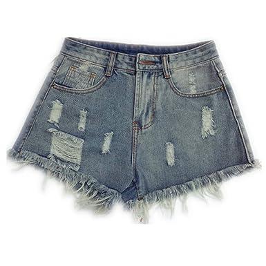ZHOUXICAN Pantalones Cortos Las Mujeres de Primavera Verano más el ...
