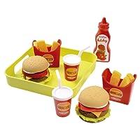 Ecoiffier - 957 - Jeu D'imitation - Cuisine - Plateau Hamburger