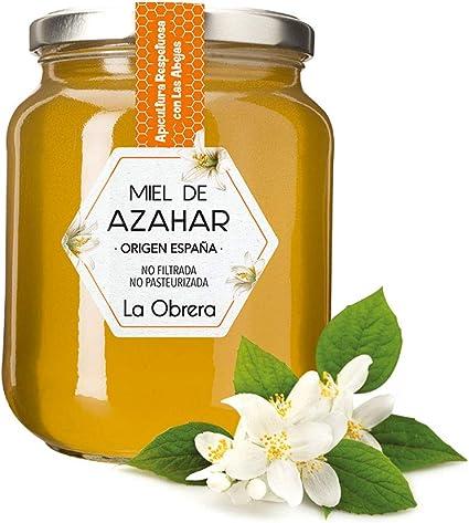 La Obrera - Miel de Azahar Pura - 100% Origen España - 950 g: Amazon.es: Alimentación y bebidas