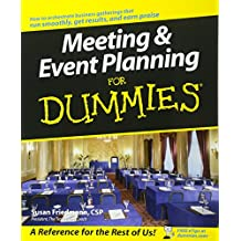 Meeting and Event Planning For Dummies