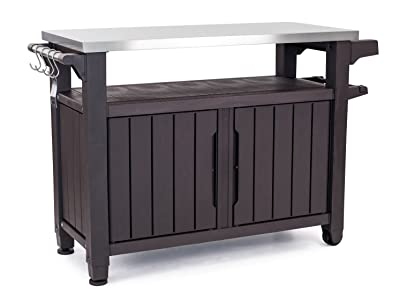 Keter Unity XL Portable Table and Storage Cabinet