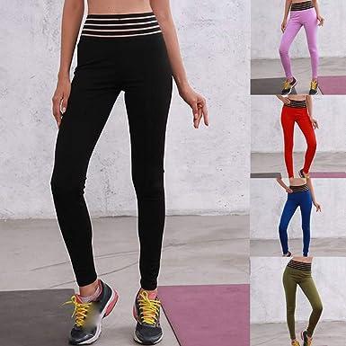 Pantalones Deportivos de Yoga de Cintura Alta para Mujer, Leggings Mallas de Gimnasio Mujer por Venmo: Amazon.es: Ropa y accesorios