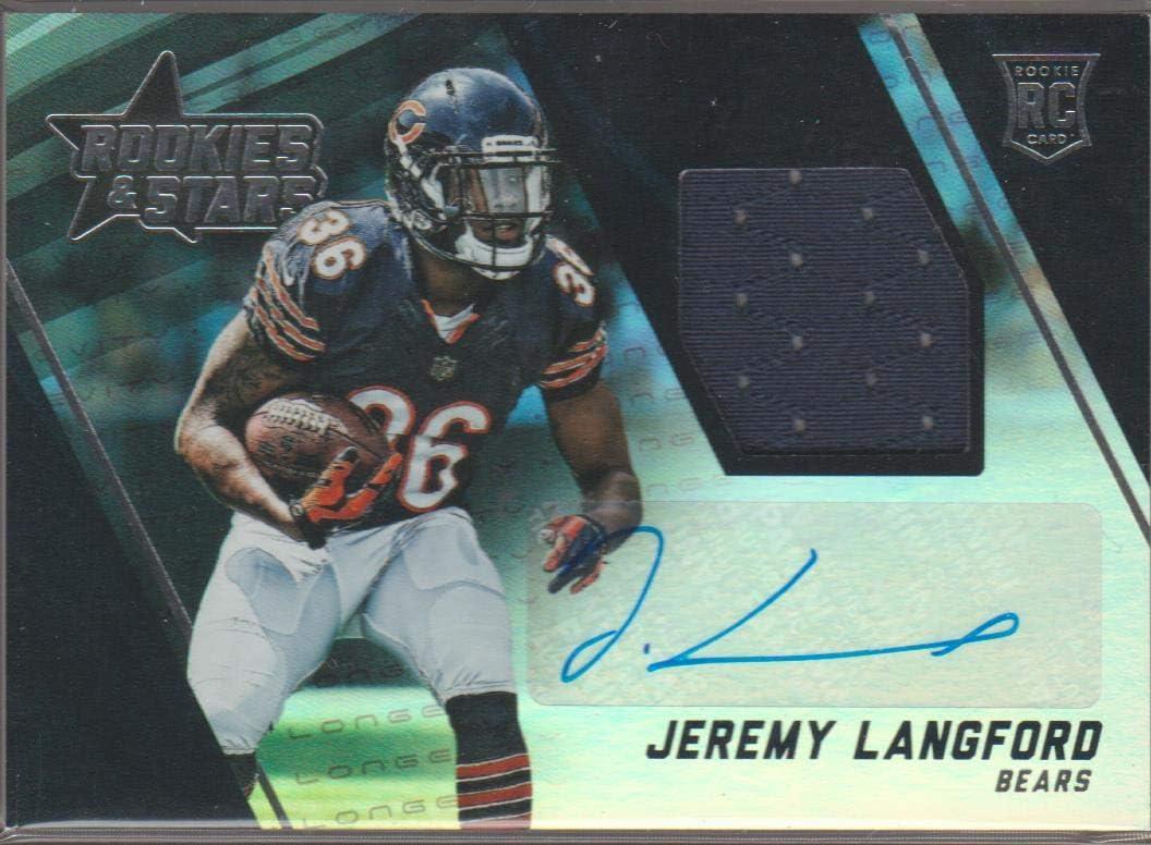 Amazon.com: 2015 Panini R&S Jeremy Langford Bears Autographed ...