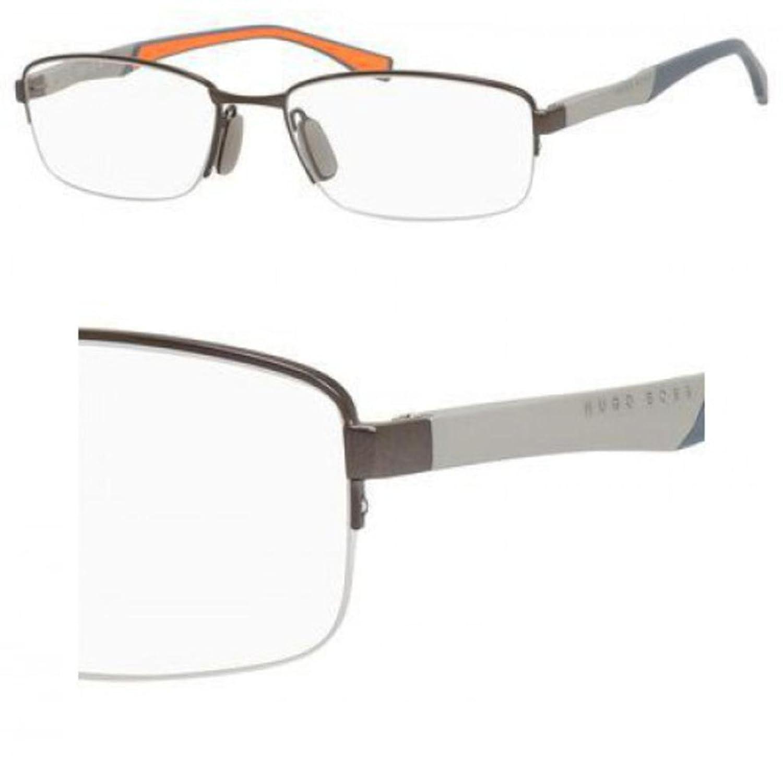 Eyeglasses Boss Black Boss 709 0IIG Semi Matte Dark Ruthenium Pallad Boss (hub) BOSS 0709 IIG
