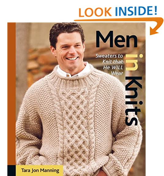 Knitting Patterns For Mens Sweaters Amazon
