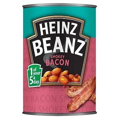 Heinz Smokey Bacon Beanz 390g