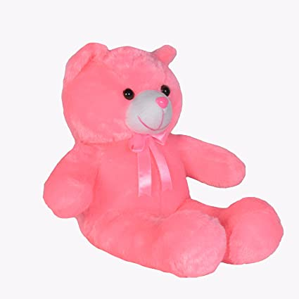005765f47e62 Buy Ultra Small Teddy Bear Kids Soft Toy, 25 cm (Pink) Online at Low Prices  in India - Amazon.in