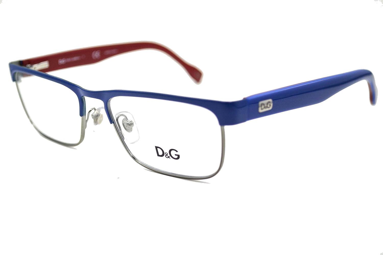 Amazon.com: D & G placa con Logo dd5103 anteojos 1094 azul ...