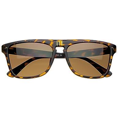 Lunettes de soleil Kiss® - Style PERSOL mod. SQUARE Steve McQueen - homme femme unisexe VINTAGE AVIATEUR culte - LA HAVANE yetqRnG8J