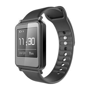 iWown i7 Smart Pulsera Smartwatch Bluetooth 4.0 Impermeable IP55 Pantalla Táctil Seguimiento de calorías Podómetro Compatible con Android IOS ...