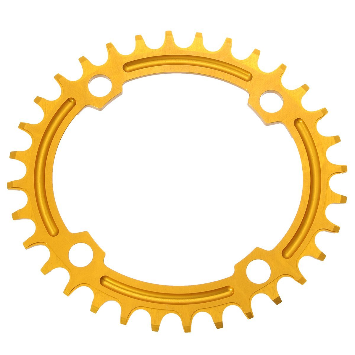 Snail 32T Oval Ddisc Chainring Bicycle Crankset 104MM Chainwheel Bike Single-Tooth Positive and Negative Plate - Bike Accessories