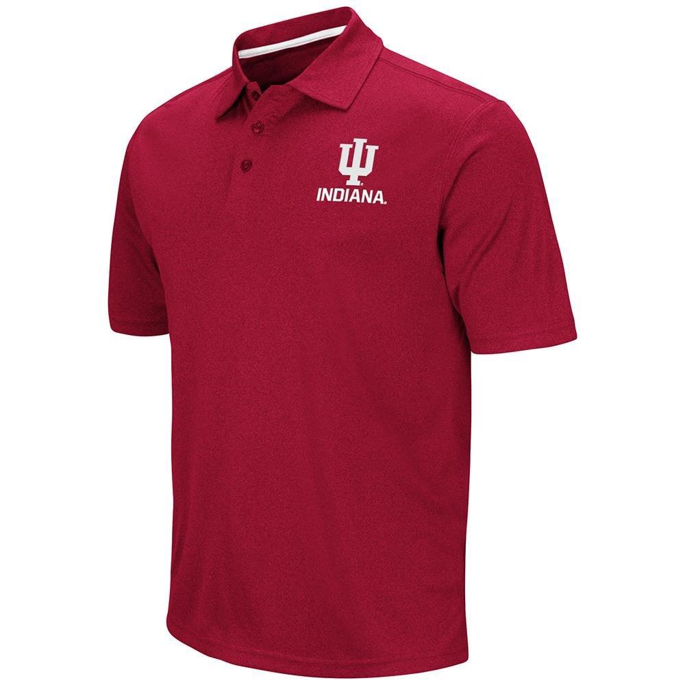 メンズNCAAインディアナHoosiersポロシャツチームカラー Small  B06WVT2HCW