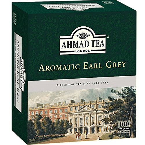 Ahmad Tea - Aromatic Earl Grey (100 Tea Bags), used for sale  Delivered anywhere in USA