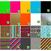 Duck Brand Duct Tape Sheets Variety Assortment Patterns and Solids 20-Pack 8.25 inches by 10 inches (Sheets Set B)