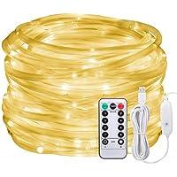 Luces LED de cuerda de hadas, 10M,regulable,