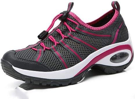 XIANGYANG Zapatos para Correr de Malla para Mujer, diseño de ...