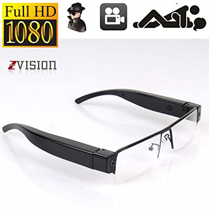 4f3235d4d7 Buy ZVision Full HD 1080P Glasses Eyewear Spectacles Spy Camera Half Frame Hidden  Cam Video Camcorder Online at Low Price in India