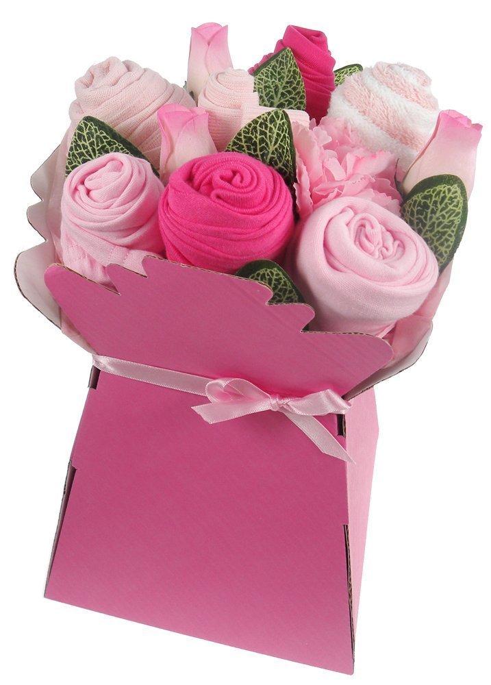 Say It Baby Baby Girl Clothes Bouquet Arrangement Gift Set GIRLCLBQT