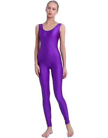 Speerise Women Lycra Spandex Nylon Tank Dance Unitard Bodysuit 167f6f743