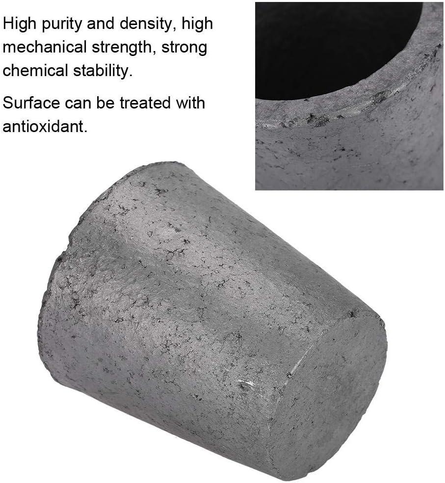 aus Siliziumkarbidgraphit 4Kg Graphit Ofen Gie/ßerei Schmelztiegel Schmelzwerkzeug Zum Schmelzen von Edelmetallen