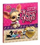 Klutz Dress Up Your Own Paper Pups Craft Kit